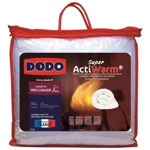 COUETTE DODO Couette très chaude 450g/m² SUPER ACTIWARM 14