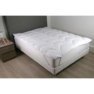 SUR-MATELAS DODO Surmatelas 140 x 190 - Polyester fibre haute