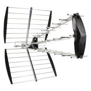 ANTENNE RATEAU KÖNIG Antenne rateau UHF extérieure 15dB DVB-T/T2