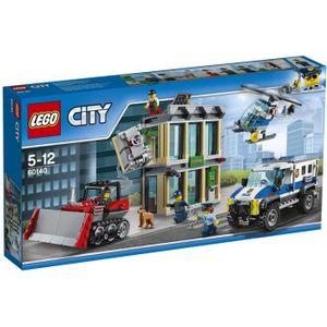 ASSEMBLAGE CONSTRUCTION LEGO® City 60140 Le Cambriolage de la Banque