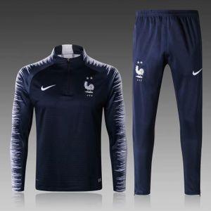 TENUE DE FOOTBALL Maillot France 18/19 Homme Maillot de Football Man