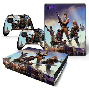 STICKER - SKIN CONSOLE XBox One X Fortnite Battle Royale Housse d'autocol
