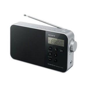 RADIO CD CASSETTE Radioréveil Numérique Sony ICFM780SL