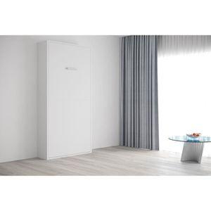 LIT ESCAMOTABLE FAST - Armoire lit escamotable verticale 1 place -