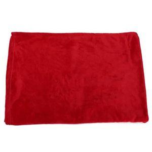 43 x 43 cm Rouge Conception de vie Catherine Lansfield connecter Laine Coussin Couverture