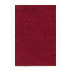 TAPIS TRENDY Tapis de salon Shaggy  rouge 80x140 cm