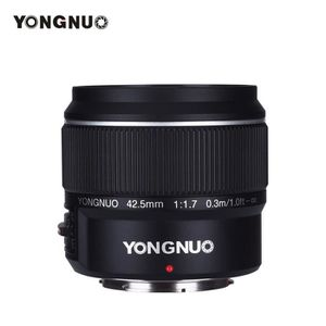 OBJECTIF YONGNUO YN42.5mm Objectif à grande ouverture - Mis