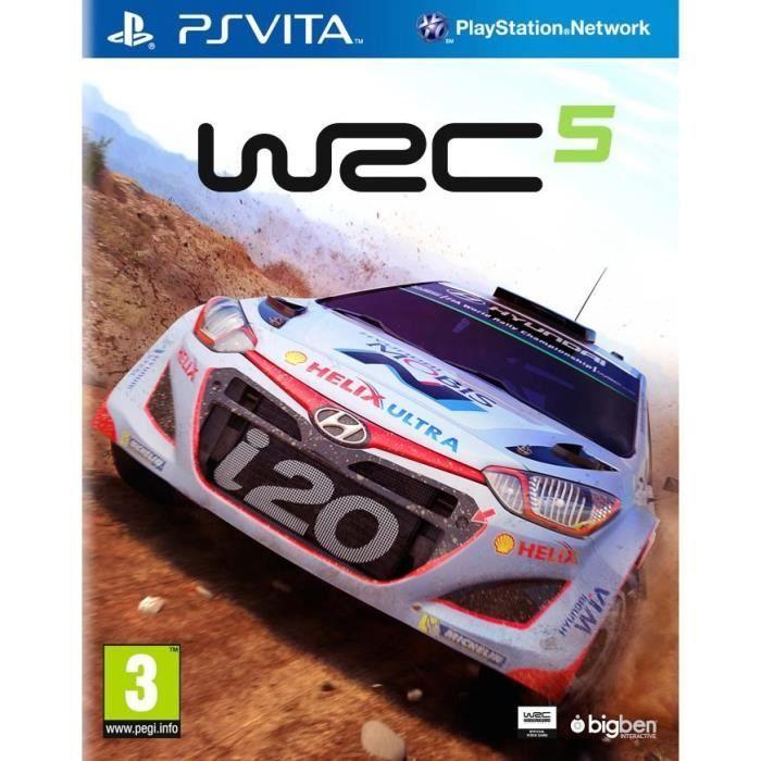 WRC 5 Jeu PS Vita