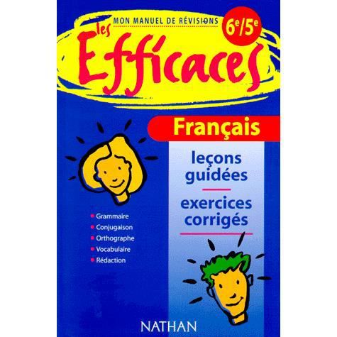 Les Efficaces Francais 6e 5e