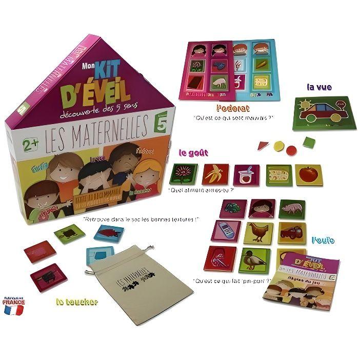 LES MATERNELLES Mon Kit d'Eveil Découverte des 5 Dens