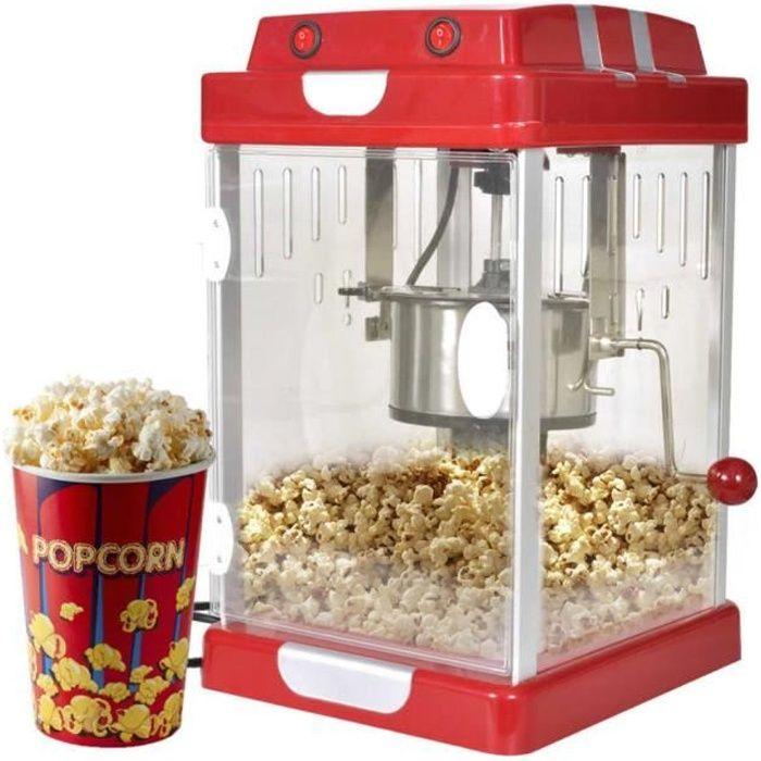 Yoshihiro Machine à pop corn professionnelle 2,5 Onces