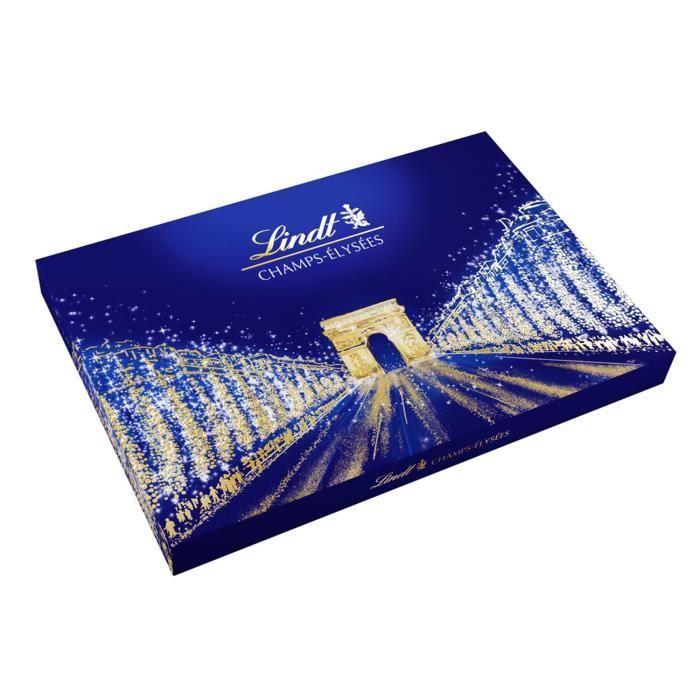 Chocolat Champs-Elysées LINDT, la boite de 973 g