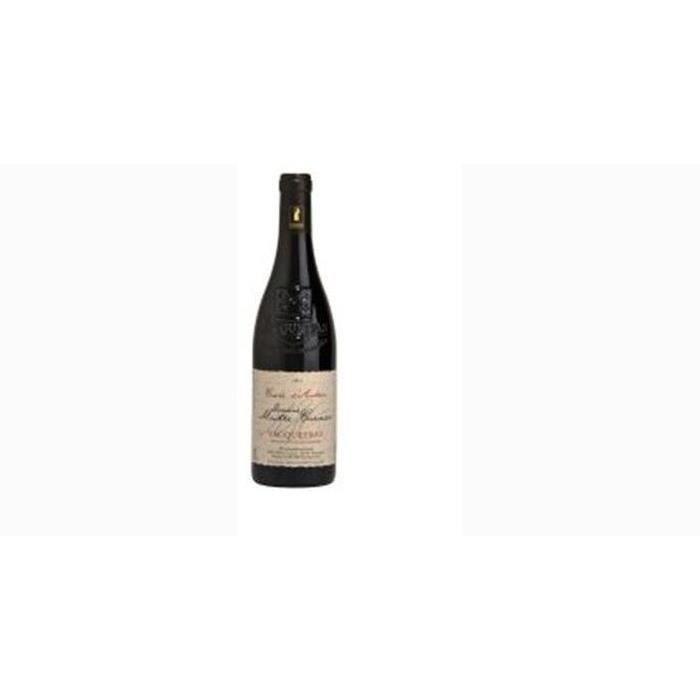 6 bouteilles - Vin rouge - Tranquille - Domaine Maitre Curnier Cuvée d'Antan Vacqueyras Rouge 2018 6x75cl