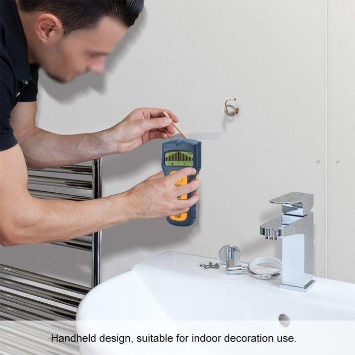 Scanner de trouvaille de bois, Scanner mural efficace précis, travailleur de locataire d'inspecteur d'alarme Flash ergonomique
