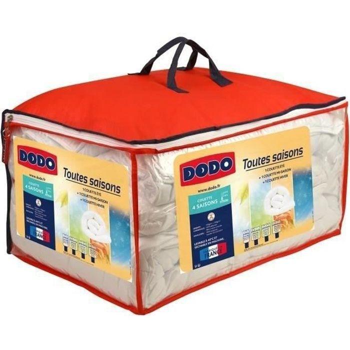 DODO Couette 4 SAISONS 200+300g/m² 140x200cm