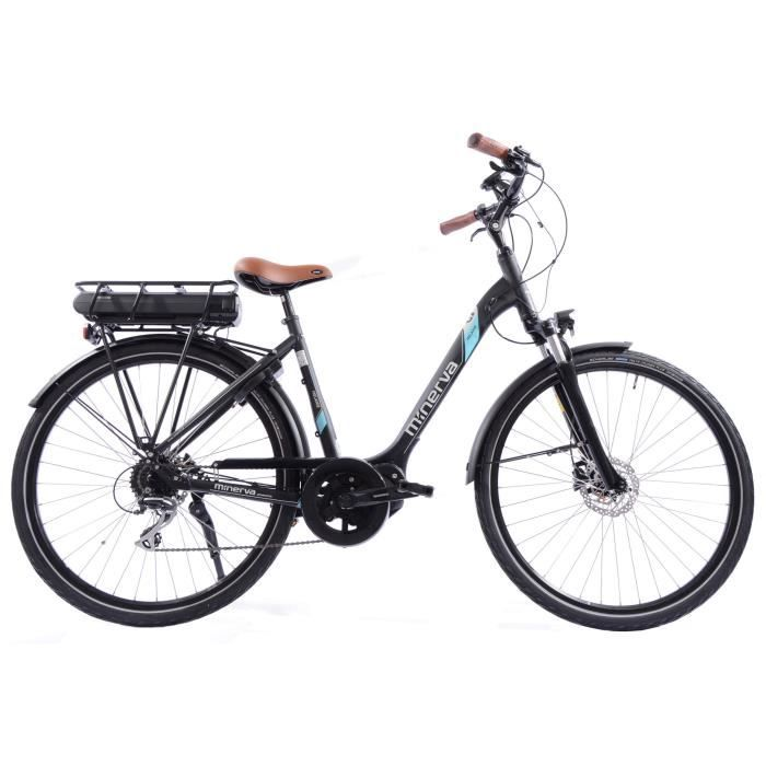 Vélo GEN 2 - Assistance électrique - Roues 28- - MINERVA - Femme - Noir