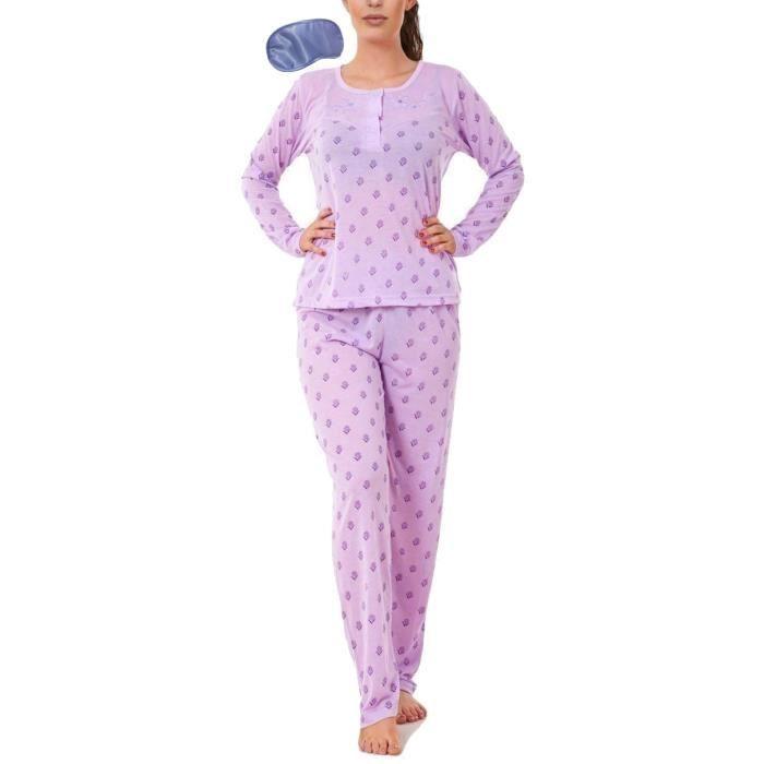 i-Smalls Ladies Pyjama Set All Over Sunflowers Ultra Soft Cotton Long Sleeves