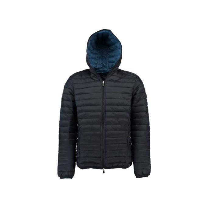 Doudoune Homme Geographical Norway Daddy Hood Marine