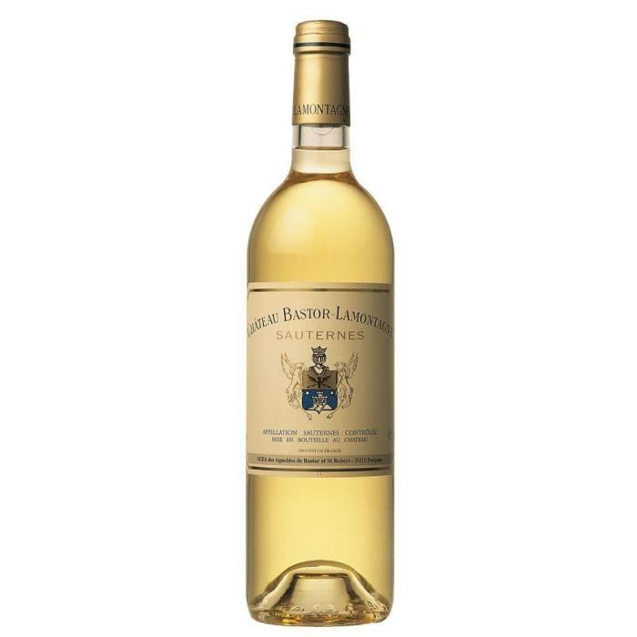 Ch. Bastor Lamontagne 2012 Sauternes 75 cl - Blanc