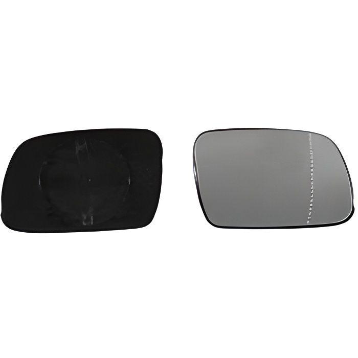 Miroir Glace rétroviseur droit pour PEUGEOT 307 phase 1, 2001-2005, à clipser, Neuf.