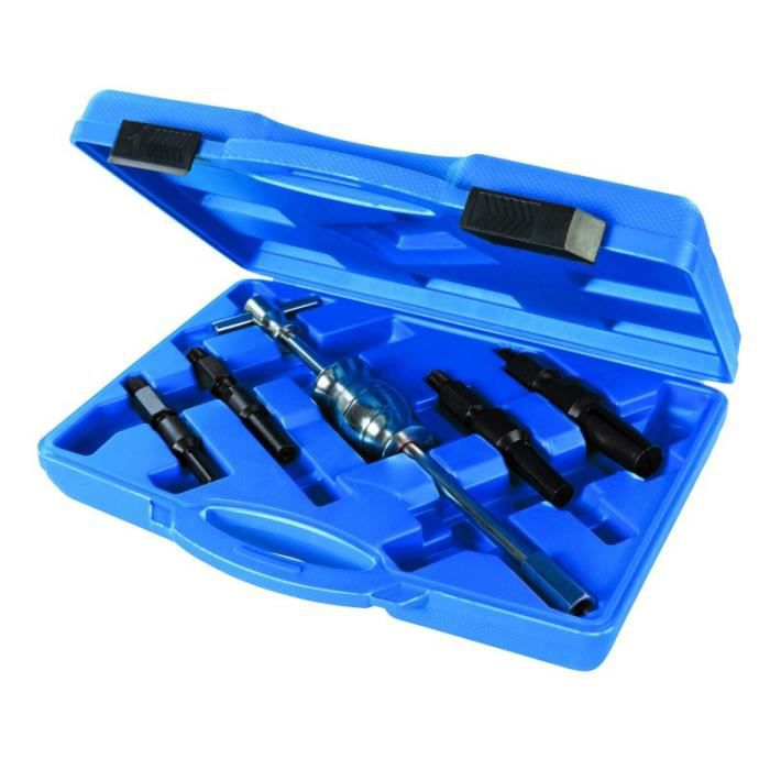 Kit d'extracteur pour roulements intérieurs borgnes 5 pcs 12 - 32 mm - Automobile