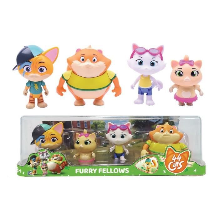 Set De 4 Figurines 44CATS - SMOBY