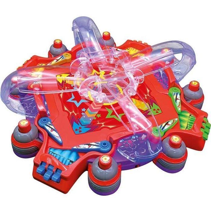 SPLASH TOYS Marble Demons - le 1er flipper multijoueurs -jeu de societe, de rapidité et d'adresse