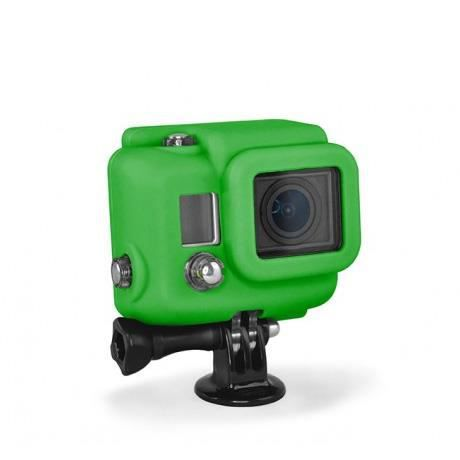 XSORIES Housse en Silicone pour GoPro HD HERO3 - Vert