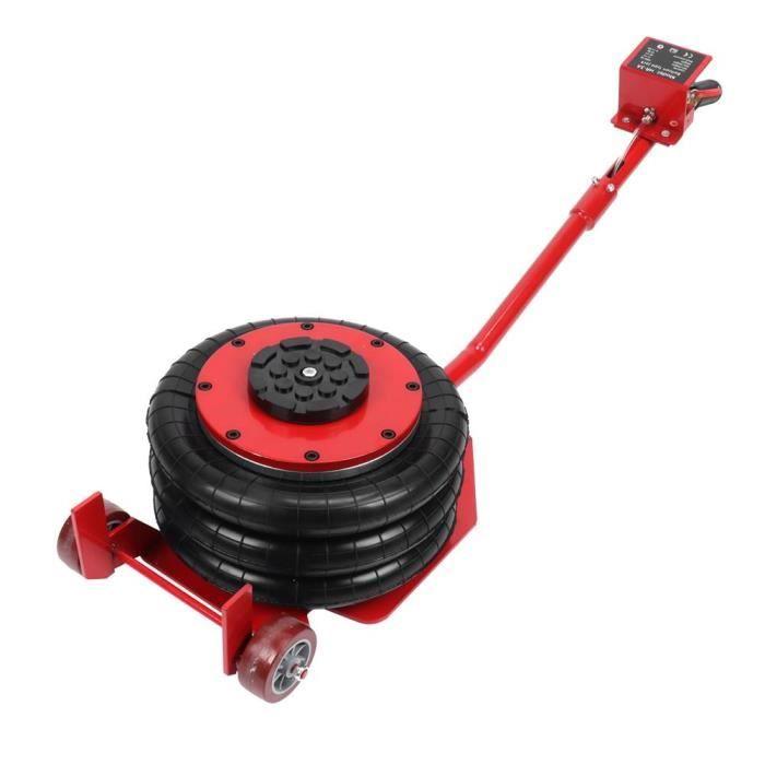 Cric de voiture pneumatique Vérin pneumatique 3 tonnes avec barre 8-12 Outil de réparation gonflé HOP2