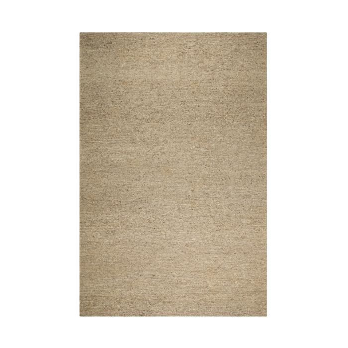 TAPIS LOOK 406 COULEUR NATUREL SANS TEINTURE gris 200x30