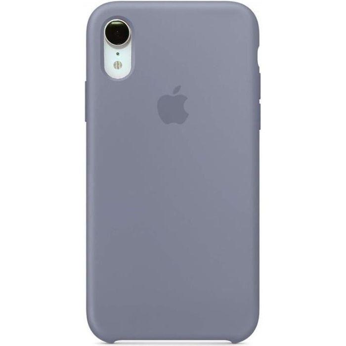 apple coque en silicone iphone xr 6 1 fumiga