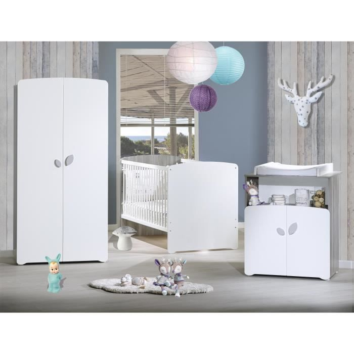 baby price new leaf chambre b b compl te lit evolutif. Black Bedroom Furniture Sets. Home Design Ideas