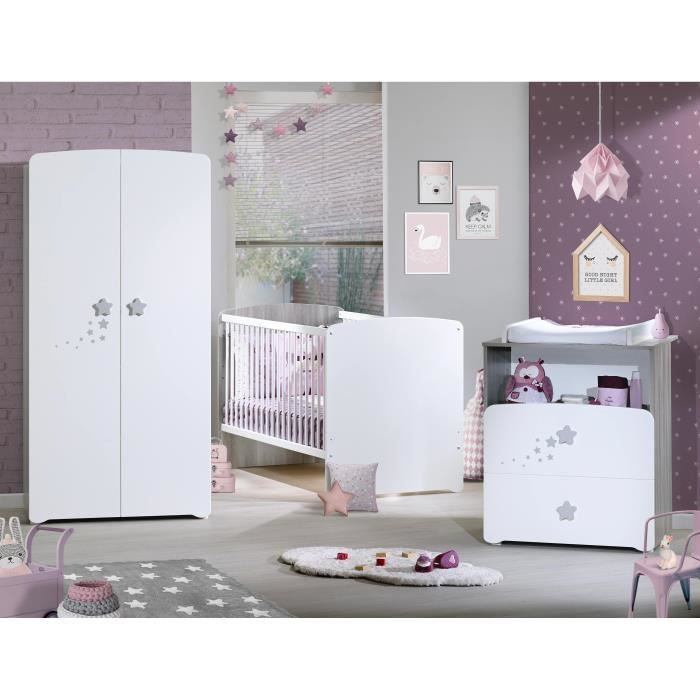 Baby price new nao chambre b b compl te lit evolutif for Chambre complete 1 personne