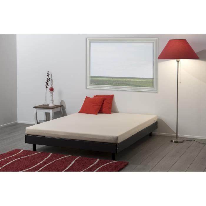 ensemble 140x190cm matelas sommier kit pieds achat vente ensemble literie cdiscount. Black Bedroom Furniture Sets. Home Design Ideas