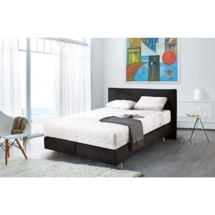 lit ensemble lit complet achat vente lit ensemble lit complet pas cher cdiscount. Black Bedroom Furniture Sets. Home Design Ideas
