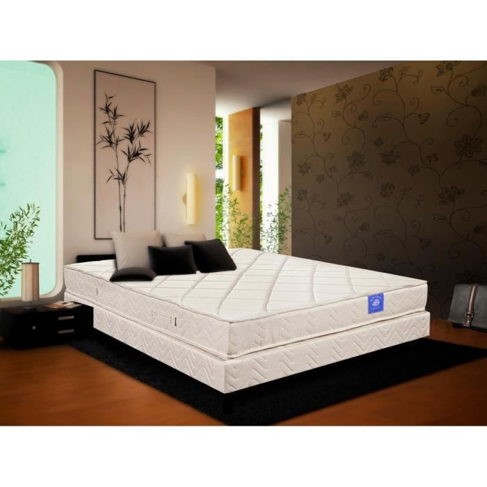matelas belle literie topaze 140 x 190 cm ressorts. Black Bedroom Furniture Sets. Home Design Ideas