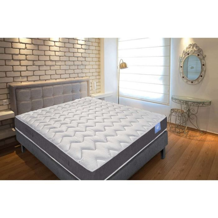 benoist belle literie matelas 140x190cm 20cm mousse haute r silience ferme 35kg m achat. Black Bedroom Furniture Sets. Home Design Ideas
