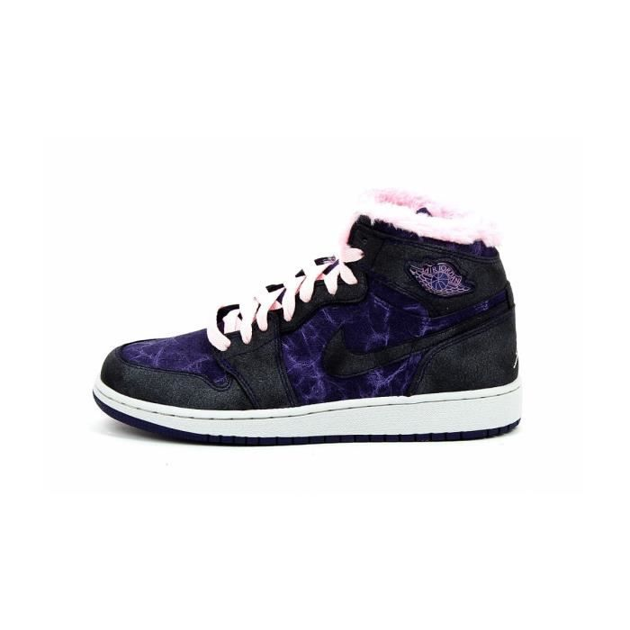 Basket Nike Air Jordan 1 Retro (Gs) 535804 509 Violet Violet