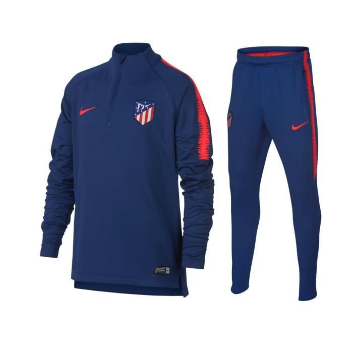 ensemble de foot Atlético de Madrid gilet