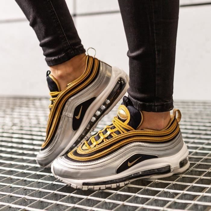 basket air max 97 blanche fille