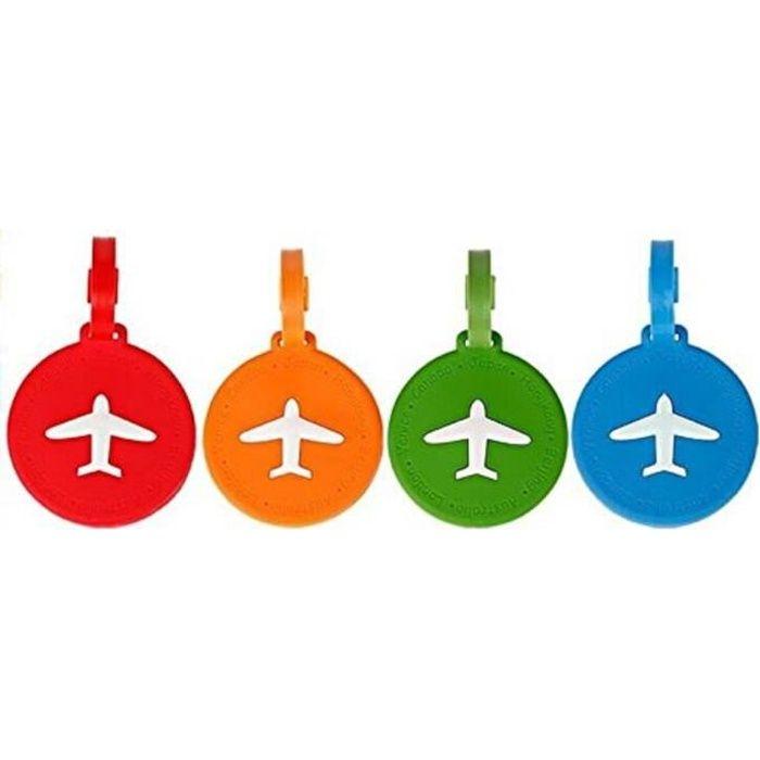 NOV@GO® Etiquette bagages//étiquette valise AVION Orange