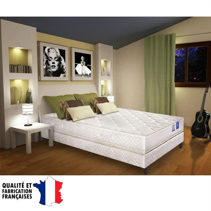 matelas belle literie 140x190cm mousse 35 kg m3. Black Bedroom Furniture Sets. Home Design Ideas