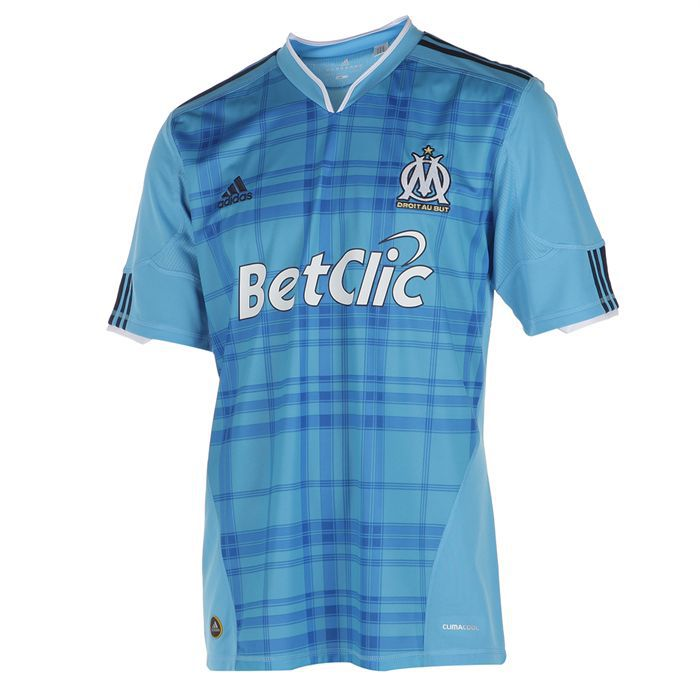 Adidas maillot de football om ext rieur homme achat for Maillot exterieur om