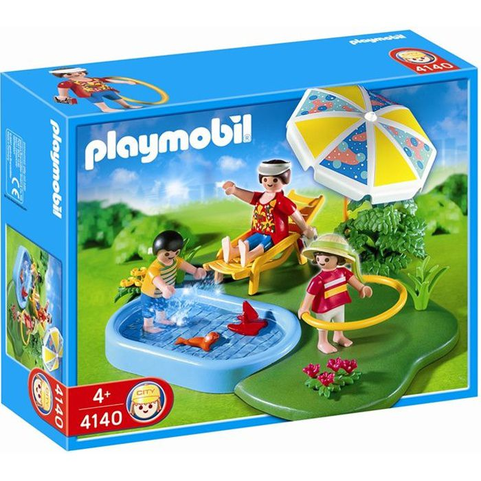Playmobil compactset piscine achat vente univers for Piscine de playmobil