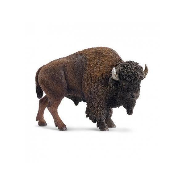 ANIMAUX SAUVAGES jeu personnage Wild Life SCHLEICH 14714 Bison