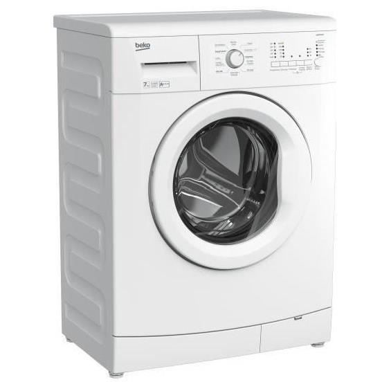 beko wcb7140 lave linge frontal 7kg 1400 tours a lave. Black Bedroom Furniture Sets. Home Design Ideas