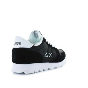 RUNNING SUN68 NYLON BICOLOR NOIR BASKETS I0gqOTdxw