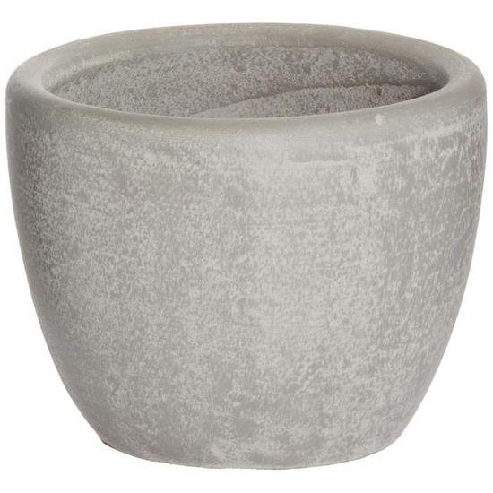 Atmosphera Pot en c/éramique avec Message Diam/ètre 13 cm Cosyness