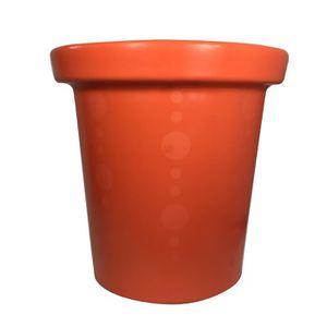 JARDINIÈRE - BAC A FLEUR Pot de fleurs Delight - 420 L - Orange