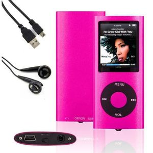 LECTEUR MP3 Lecteur MP4 MP3 Player 16Go Vidéo, Musique, Radio,
